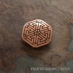 Viking - Valknut Copper Hair Tie CHT-101