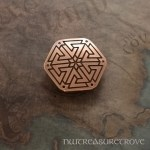 Viking Warriors - Valknut Copper Hair Tie CHT-102