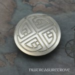 Celtic Knot Nickel Silver Hair Tie NHT-4