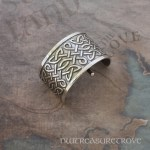 Celtic Knots Sterling Silver Ponytail Holder SC-5